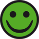 Grøn smiley Arbejdsmiljø